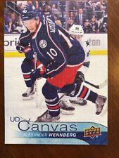 16-17 UD Hockey Series 2 Canvas #C143 Alexander Wennberg
