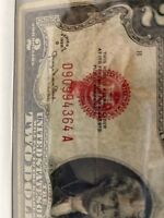 Error Smear 1928 G $2 Two Dollar Bill Red Seal United States Note  Rare、WOW !!!