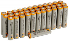 AAA Alkaline Batteries Amazon Basics 36 Pack Free Shipping NEW