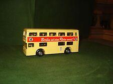 "1972 MATCHBOX SUPER KINGS BUS - ""BERLIN IST EINE REISEWERT"" ON SIDE OF BUS,C-9"