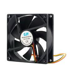 12V 3-Pin 9cm 90 x 25mm 90mm CPU Heat Sinks Cooler Fan DC Cooling Fan 65 CFM GA