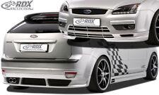 RDX Bodykit FORD Focus 2 Front Spoiler Heck Ansatz Seitenschweller Tuning Set