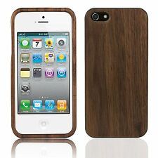 Handmade Artisan Natural Eco Walnut Real Hard Wood Phone Case for Apple iPhone 4