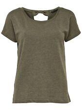 48/17 NEU ONLY Damen T-Shirt Top onlSPRING SOLID S/S ONECK SWT Sweat Gr. M