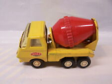LOOSE - Tonka Cement Mixer Truck Construction Toy  Yellow Red