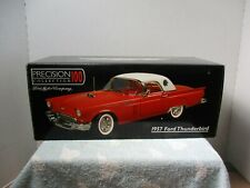 1/18 SCALE PRECISION 100 RED 1957 FORD THUNDERBIRD