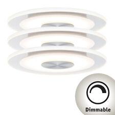 Paulmann Einbauleuchte LED Whirl rund 5 5w Alu Satin 3er-set Dimmbar