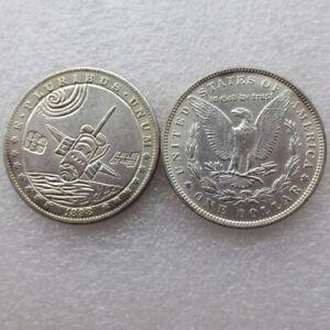 1898 One Morgan Dollar USA Sonder Münze Silber Special Edition USA Mondlandung