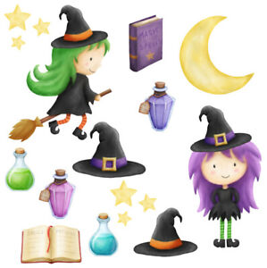 Witches Witch Wall Stickers - 5 sizes available