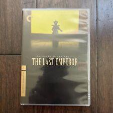 Mint The Last Emperor Criterion Dvd 1987 Bernardo Bertolucci + Booklet