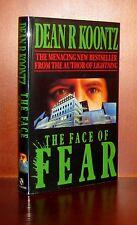 The Face Of Fear by Dean Koontz**UK Edition** 1989 Headline Publication VGC