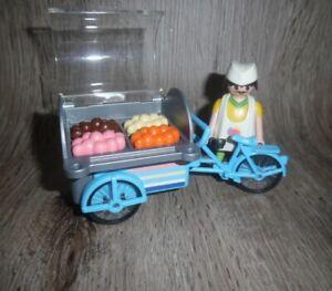 Playmobil Eisverkäufer mit Verkaufsstand | Wagen