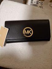 Michael Kors Fulton Carryall Wallet $148.00 Black