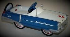 Pedal Car Two Tone Convertible Rare Vintage Classic Midget Show Model