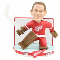 Terry Sawchuk Detroit Red Wings NHL Legends Bobblehead NHL