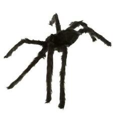 75cm Black Spider Halloween Decoration Haunted House Prop Indoor Outdoor Wide