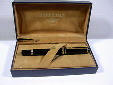 GROS STYLO WATERMAN MAN 100 PLUME OR 18C ANCIEN COLLECTION VERS 1980