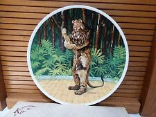 Wizard of Oz Knowles Collector Plate Lion New in Box