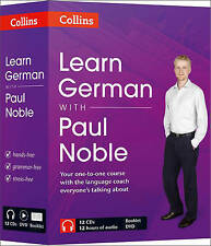Learn German with Paul Noble: German Made Easy with Your Personal Language Coach: Complete Course by Paul Noble (CD-Audio, 2012)
