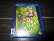 NEW Limited Run Games ODDWORLD MUNCH'S ODDYSEE Playstation Vita PSVita