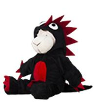 """Teddy Bear - Black/red Monster Outfit, fits 16"""" teddy mountain and Build a Bear"""