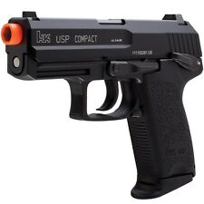 H&K KWA USP Compact Tactical Airsoft Semi Auto Gas Blowback GBB Pistol Handgun