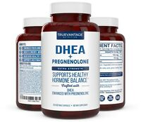 Extra Strength DHEA 100mg Supplement with Pregnenolone 60mg