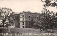 D10/ St Paul Minnesota RPPC Postcard c1910 Seminary Norwegian Lutheran Church