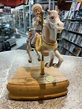 Tobin Fraley Carousel Horse Music Box Second Edition Signed