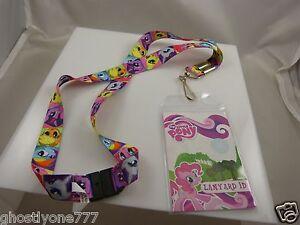 Id card holder Lanyard My little pony rainbow colored