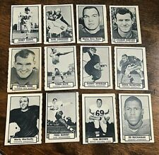 1962 Topps CFL   card lot.