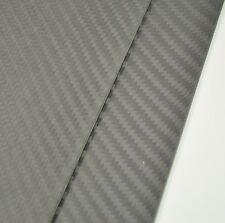 100X250mm Thickness 2mm Carbon Fiber plate panel sheet Matte Surface US Stock