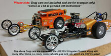 JDS Slingster 1/24 Drag Slot Car Chassis Kit