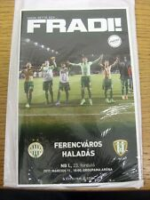 11/03/2017 Ferencvaros v Halladas  . Thanks for viewing our item, buy with confi
