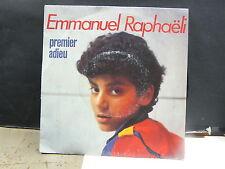 EMMANUEL RAPHAELI Premier adieu 2C008 72697