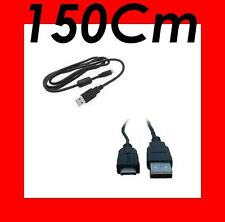 ★★★ CABLE USB DATA 150 Cm ★★★ Pour PANASONIC LUMIX DMC-FT1  DMC-FT2