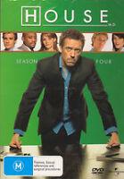 House, M.D. : Season 4 (DVD, 2008, 4-Disc Set) New Region 4 Sealed