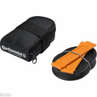 Continental Road Bike Saddle Bag Tube Tyre Levers 60mm valve carbon alloy wheels