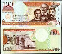 DOMINICAN REPUBLIC 100 PESOS ORO 2010 P 177 UNC