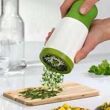 New Herb Grinder Spice Mill Parsley Shredder Chopper Fruit Vegetable Cutter