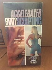Accelerated Body Sculpting-advanced techniques, 6 week body- VHS- new, sealed