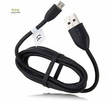 GENUINE HTC DCM 410 MICRO USB DATA CABLE CHARGER DESIRE ONE X ONE MINI & MINI 2