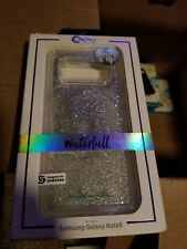 Case Mate Waterfall Series Case Galaxy Note 8 Iridescent Diamond  Clear Glitter