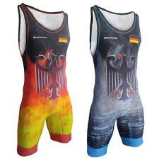Tuta da wrestling BERKNER GERMANY Wrestling Singlet Trikot Ringen Deutschland