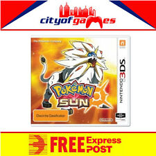 Pokemon Sun 3DS New & Sealed Free Express Post In Stock