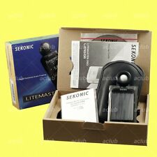 Genuine Sekonic LITEMASTER PRO L-478D Digital Light Meter Flash Master L478D
