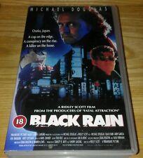vhs video: Ridley Scott's BLACK RAIN Michael Douglas, Andy Garcia, Ken Takakura