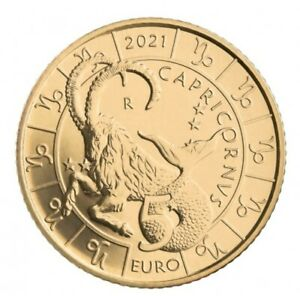 5 Euros Commémorative Saint Marin Horoscope Zodiac Capricorne 2021