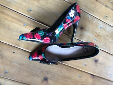 Madison Shoedazzle 9.5 Floral High Heels- Pumps  Worn Once