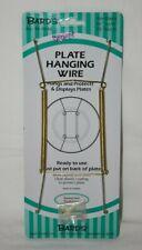 "Plate Hanger 10""-14"" 25-36cm Brass #48-0040"